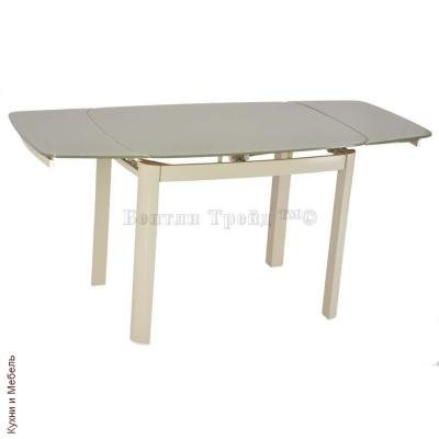 Стеклянный стол 6236C Beige/Beige-1