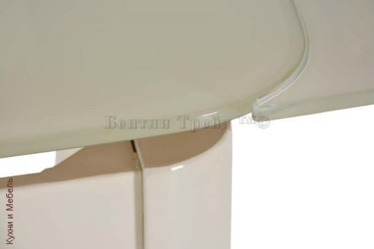 Стеклянный стол 6236C Beige/Beige-2