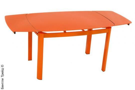 Стеклянный стол 6236C Orange-1