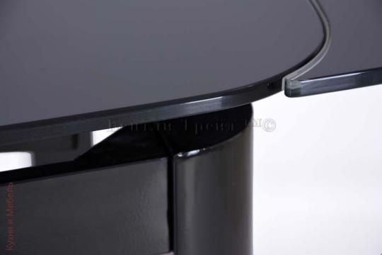 Стеклянный стол 6236C Black/Black-1