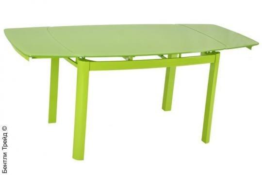 Стеклянный стол 6236B Green/Green-2