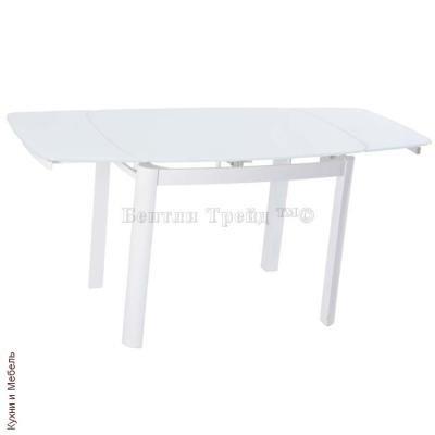 Стеклянный стол 6236B Super White/Super White-2