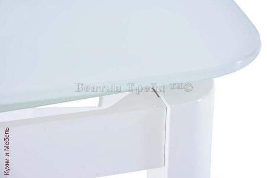Стеклянный стол 6236B Super White/Super White-1