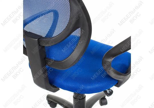 Офисное кресло CH синий-1