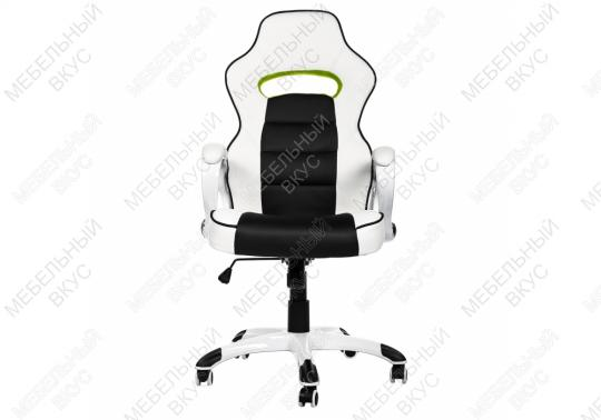 Игровое компьютерное кресло Lider черно-белое-4