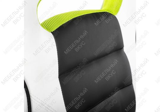 Игровое компьютерное кресло Lider черно-белое-2