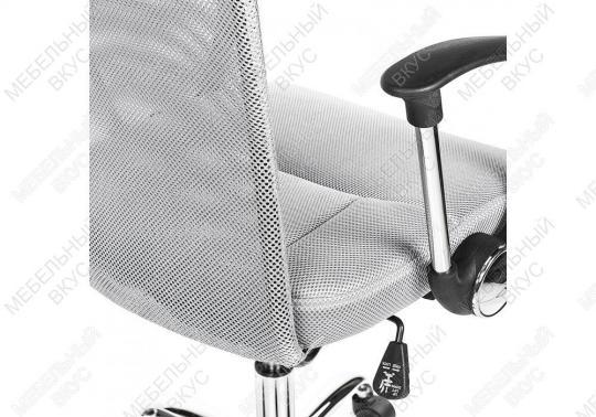 Офисное кресло Luxe серое-1