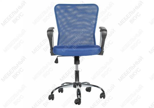 Офисное кресло Luxe синее-4