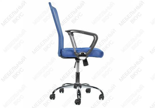 Офисное кресло Luxe синее-3
