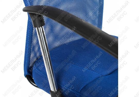 Офисное кресло Luxe синее-2