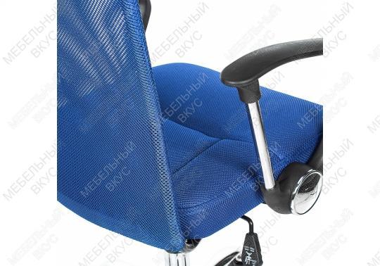 Офисное кресло Luxe синее-1