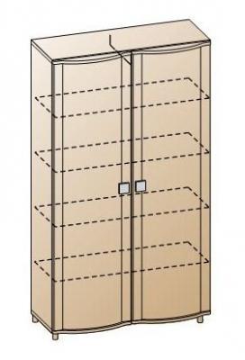 Шкаф для одежды и белья ШК-311-5