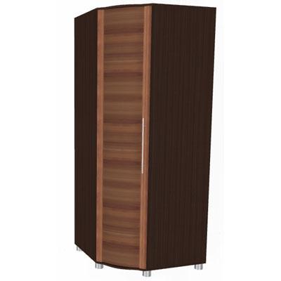 Шкаф угловой для одежды и белья ШК-110-2