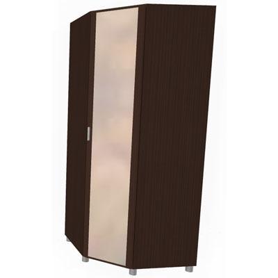 Шкаф угловой для одежды и белья ШК-713-1