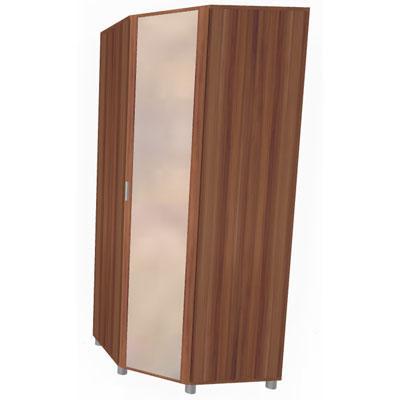 Шкаф угловой для одежды и белья ШК-713-2