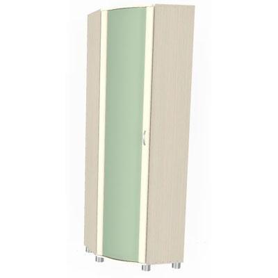 Шкаф угловой для одежды и белья ШК-115-1