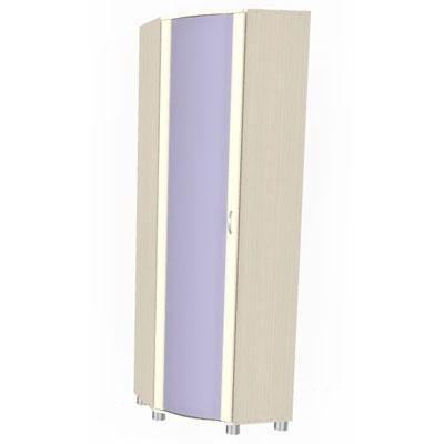 Шкаф угловой для одежды и белья ШК-115-3