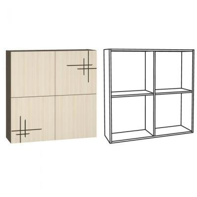 Шкаф навесной Киото 904 -1