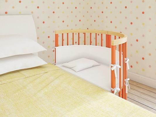 Кроватка овальная TreeO Coral 120*90-3