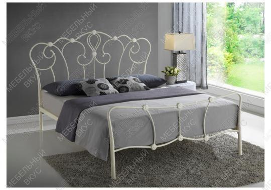 Кровать Agata 160 х 200 бежевая-2