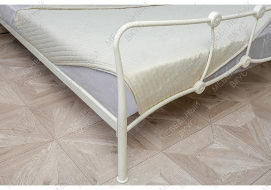 Кровать Agata 160 х 200 бежевая-6
