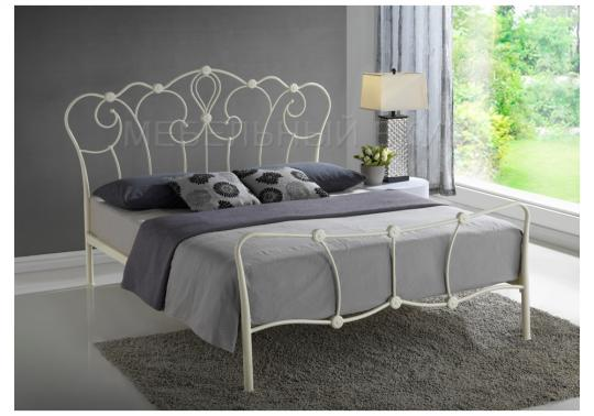 Кровать Agata 160 х 200 бежевая-7