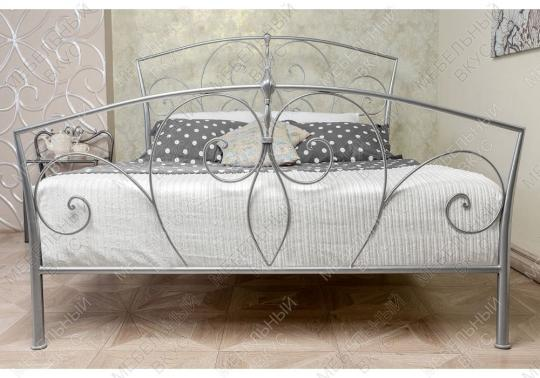 Кровать Vita 160 х 200 серебристая-2