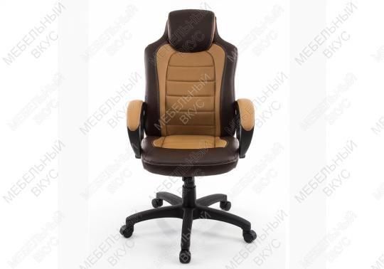 Игровое компьютерное кресло Kadis коричневое / бежевое-6