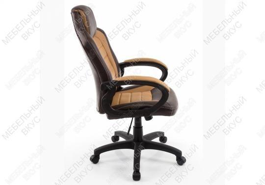 Игровое компьютерное кресло Kadis коричневое / бежевое-5