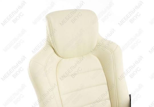Игровое компьютерное кресло Kadis кремовое-5