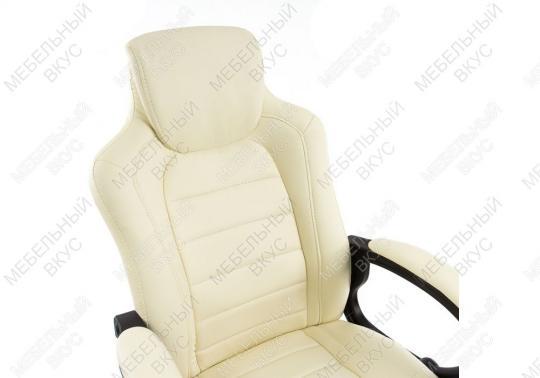Игровое компьютерное кресло Kadis кремовое-4