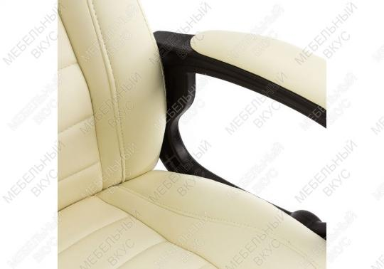Игровое компьютерное кресло Kadis кремовое-3