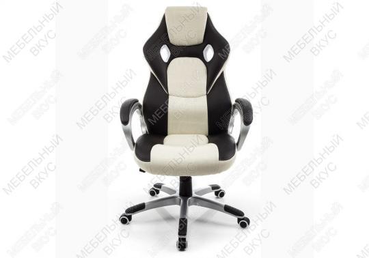 Игровое компьютерное кресло Navara кремовое / черное-8