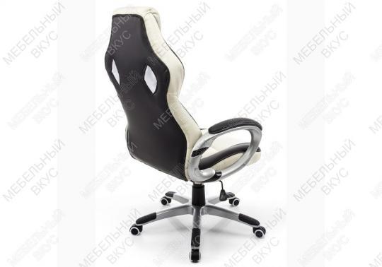 Игровое компьютерное кресло Navara кремовое / черное-7