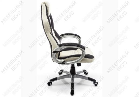 Игровое компьютерное кресло Navara кремовое / черное-6