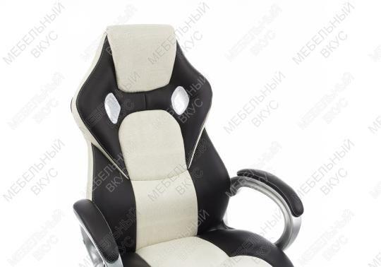 Компьютерное кресло Navara кремовое / черное-5