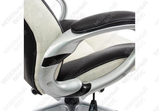 Игровое компьютерное кресло Navara кремовое / черное-2