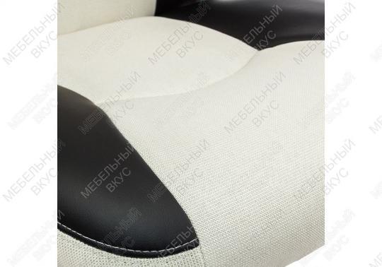 Игровое компьютерное кресло Navara кремовое / черное-9