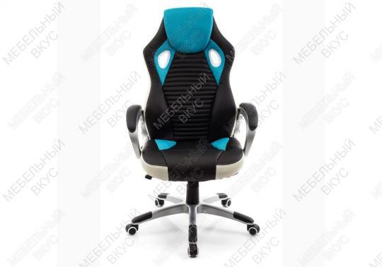Игровое компьютерное кресло Roketas голубое-7