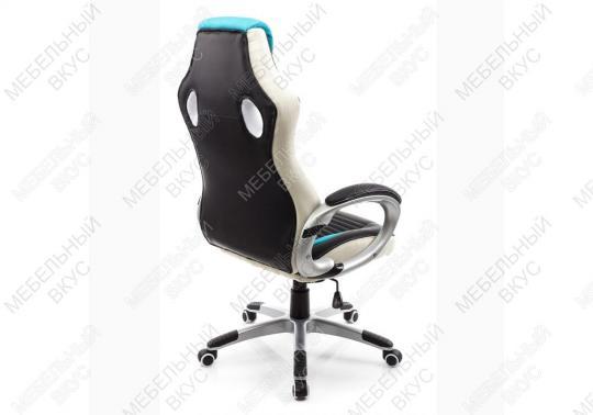 Игровое компьютерное кресло Roketas голубое-6