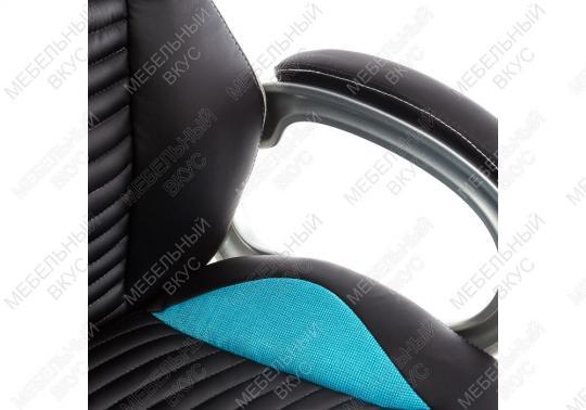 Игровое компьютерное кресло Roketas голубое-2