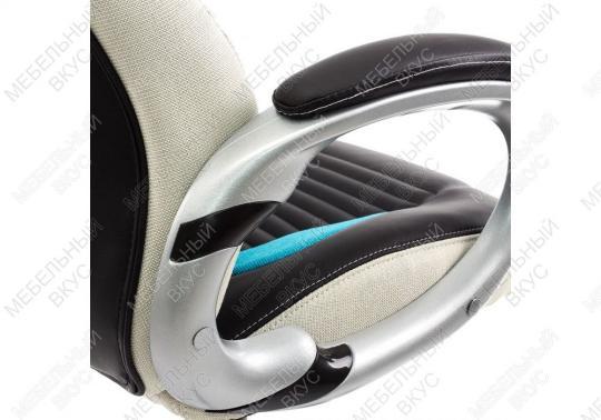 Игровое компьютерное кресло Roketas голубое-1