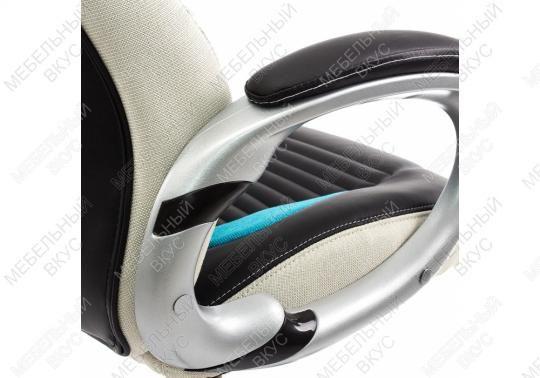Компьютерное кресло Roketas голубое-1