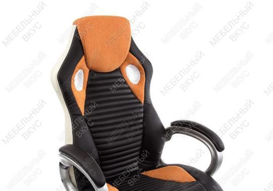 Игровое компьютерное кресло Roketas оранжевое-5
