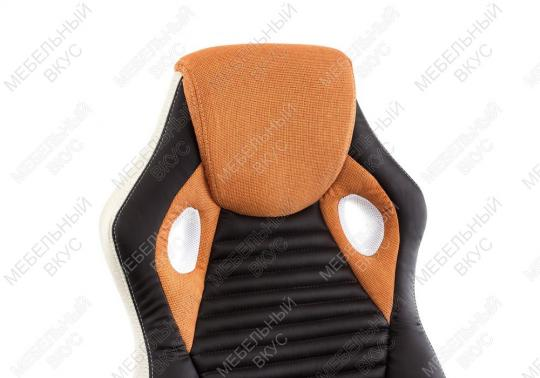 Игровое компьютерное кресло Roketas оранжевое-4
