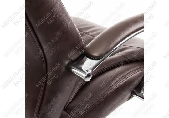 Компьютерное кресло Tomar коричневое-2