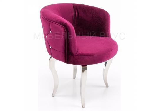 Кресло Kvinn розовое-1