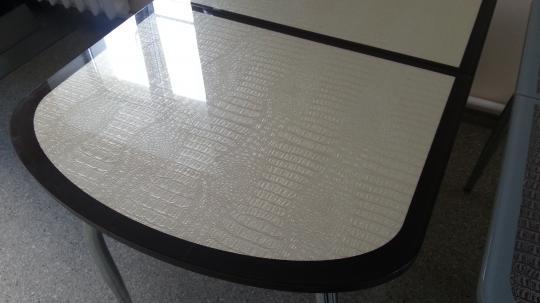 Стол МС стандарт с экокожей-2