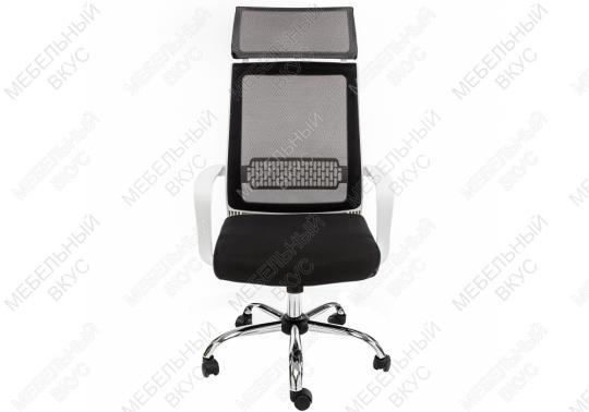 Компьютерное кресло Lion черно-белое-10
