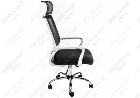 Компьютерное кресло Lion черно-белое-9